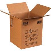 "Haz Mat Boxes For 5 Gal. Plastic Pail, 12-1/2""L x 12-1/2""W x 15-1/8""H, Kraft, 10/Pack"