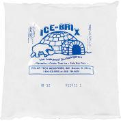 "Ice-Brix™ Cold Packs, 12 Oz., 6""L x 6""W x 1""H, White/Blue, 48/Pack"