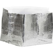 """Cool Shield Insulated Box Liners 12"""" x 12"""" x 6"""", 25 Pack"""