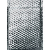 """Cool Shield Thermal Bubble Mailers 10"""" x 10-1/2"""" Silver, 100 Pack"""