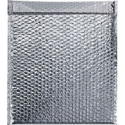 "Cool Shield Thermal Bubble Mailers 15"" x 17"" Silver, 50 Pack"