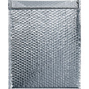 """Cool Shield Thermal Bubble Mailers 24"""" x 20"""" Silver, 50 Pack"""