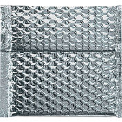 """Cool Shield Thermal Bubble Mailers 6"""" x 6-1/2"""" Silver, 100 Pack"""