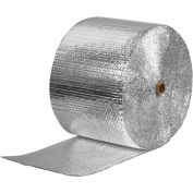 """Cool Shield Thermal Bubble Roll, 125'L x 12""""W x 3/16"""" Thick, Silver"""