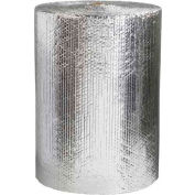 """Cool Shield Thermal Bubble Roll, 125'L x 24""""W x 3/16"""" Thick, Silver"""