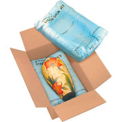 """Instapak Quick® Room Temperature Expandable Foam Bags, 18""""L x 18""""W, Blue, Pack of 36"""