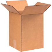 "Heavy-Duty Double Wall Cardboard Corrugated Boxes 9"" x 9"" x 13"" 275#/ECT-48 - Pkg Qty 25"