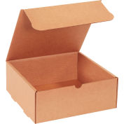 "Corrugated Literature Mailers 10"" x 10"" x 4"" 200#/ECT-32 Kraft - Pkg Qty 50"