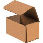"Kraft Corrugated Mailer 5"" x 3"" x 3"" - 50 Pack"