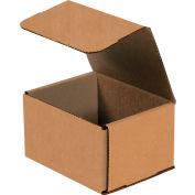 "Kraft Corrugated Mailers 5"" x 4"" x 3"" 200#/ECT-32-B 50 Pack"