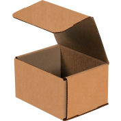 """Corrugated Mailers 5"""" x 5"""" x 3"""" 200lb. Test/ECT-32 Kraft 50 Pack"""