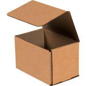 "Kraft Corrugated Mailer 6"" x 4"" x 4"" - 50 Pack"
