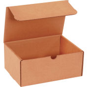 "Corrugated Mailers 9"" x 4"" x 3"" 200lb. Test/ECT-32 Kraft 50 Pack"