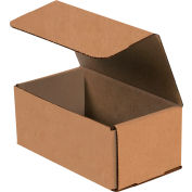 """Corrugated Mailers 9"""" x 6"""" x 3"""" 200lb. Test/ECT-32 Kraft 50 Pack"""