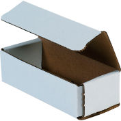 """Corrugated Mailers 6"""" x 2-1/2"""" x 1-3/4"""" 200#/ECT-32 White - Pkg Qty 50"""