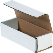 """Corrugated Mailers 6-1/2"""" x 2-1/2"""" x 1-3/4"""" 200#/ECT-32 White - Pkg Qty 50"""