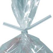 "Paper Twist Ties 6"" x 5/32"" White 2,000 Pack"