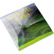 "PVC Shrink Bags 24""W x 24""W 100 Gauge Clear 100 Pack"