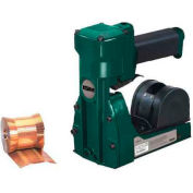 """Pneumatic Roll Feed Carton Stapler for 3/4"""" Staples, 1000 Staples Capacity, Green"""