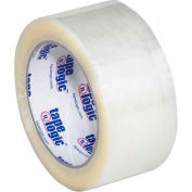 "Carton Sealing Tape 2"" x 55 Yds 3 Mil Clear - Pkg Qty 6"