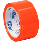 "Carton Sealing Tape 2"" x 55 Yds 2.2 Mil Orange - Pkg Qty 6"