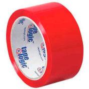 """Tape Logic Carton Sealing Tape 2"""" x 55 Yds 2.2 Mil Red - Pkg Qty 36"""