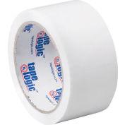"Carton Sealing Tape 2"" x 55 Yds 2.2 Mil White - Pkg Qty 6"