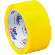 "Carton Sealing Tape 2"" x 55 Yds 2.2 Mil Yellow - Pkg Qty 18"