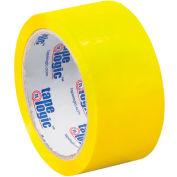 "Carton Sealing Tape 2"" x 55 Yds 2.2 Mil Yellow - Pkg Qty 6"