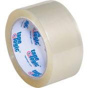 "Carton Sealing Tape 2"" x 55 Yds 2.6 Mil Clear - Pkg Qty 6"