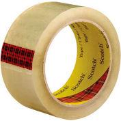 "3M 3743 Carton Sealing Tape 2"" x 55 Yds 2.6 Mil Clear  - Pkg Qty 6"