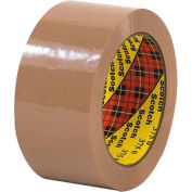 "3M 375 Carton Sealing Tape 2"" x 55 Yds 3.1 Mil Tan  - Pkg Qty 6"
