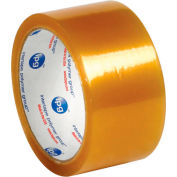 """Natural Rubber Carton Sealing Tape 2"""" x 55 Yds 2.9 Mil Clear - Pkg Qty 6"""