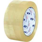 "Hot Melt Tape 600 2"" x 55 Yds 1.6 Mil Clear - Pkg Qty 6"