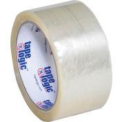 "Carton Sealing Tape 2"" x 55 Yds 1.9 Mil Clear - Pkg Qty 6"