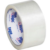 "Hot Melt Carton Sealing Tape 2"" x 55 Yds 2.2 Mil Clear - Pkg Qty 6"
