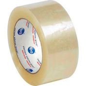 """Whisper Smooth Acrylic Carton Sealing Tape 2"""" x 110 Yds 2 Mil Clear  - Pkg Qty 6"""