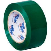 """Tape Logic Carton Sealing Tape 2"""" x 110 Yds 2.2 Mil Green - Pkg Qty 36"""