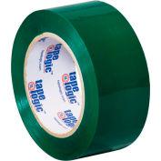"Carton Sealing Tape 2"" x 110 Yds 2.2 Mil Green - Pkg Qty 6"