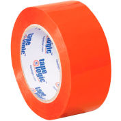 "Carton Sealing Tape 2"" x 110 Yds 2.2 Mil Orange - Pkg Qty 18"