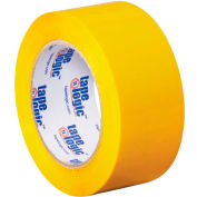 "Carton Sealing Tape 2"" x 110 Yds 2.2 Mil Yellow - Pkg Qty 18"