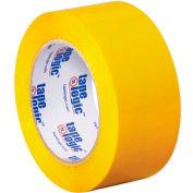 "Carton Sealing Tape 2"" x 110 Yds 2.2 Mil Yellow - Pkg Qty 6"