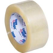 "Carton Sealing Tape 2"" x 110 Yds 2.6 Mil Clear - Pkg Qty 6"