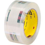 "3M 311 Carton Sealing Tape 2"" x 110 Yds 2 Mil Clear  - Pkg Qty 6"