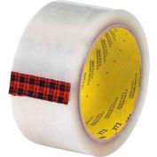 "3M 372 Carton Sealing Tape 2"" x 110 Yds 2.2 Mil Clear  - Pkg Qty 6"