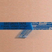 """Security Tape 3"""" x 60 Yds 2.5 Mil Blue 1 Pack"""