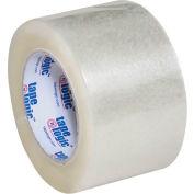 "Carton Sealing Tape 3"" x 110 Yds 2.6 Mil Clear - Pkg Qty 6"