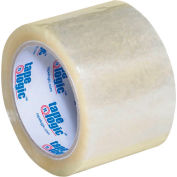 "Carton Sealing Tape 3"" x 55 Yds 2.6 Mil Clear - Pkg Qty 6"
