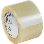 "3M 302 Carton Sealing Tape 3"" x 110 Yds 1.6 Mil Clear  - Pkg Qty 6"