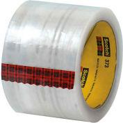 "3M 373 Carton Sealing Tape 3"" x 55 Yds 2.5 Mil Clear - Pkg Qty 6"